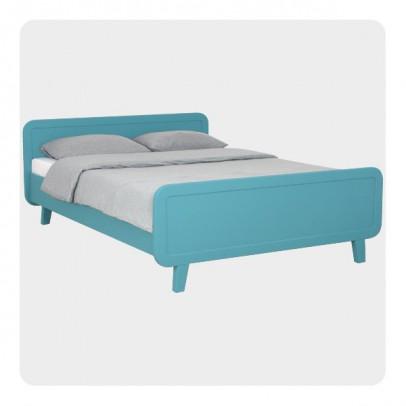 Laurette Lit rond 140x200 cm - Turquoise-listing