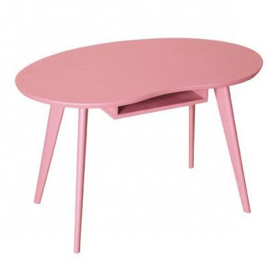 Laurette Table Haricot - Vieux rose-listing