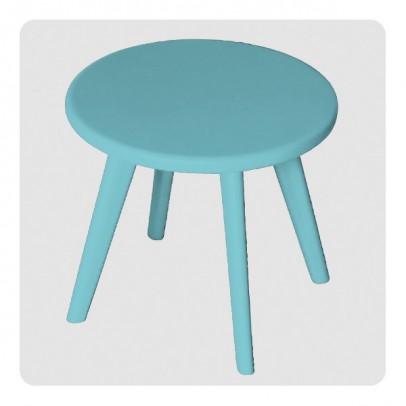 Laurette Tabouret Haricot - Turquoise-listing