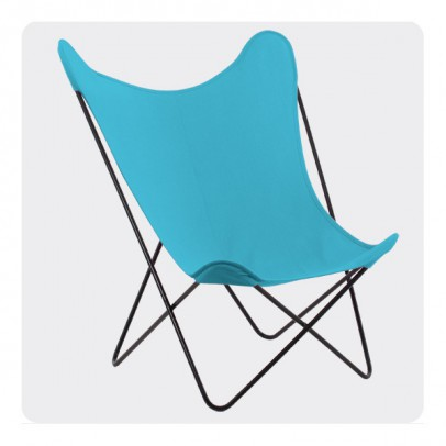 Laurette Butterfly Chair - Turquoise-listing