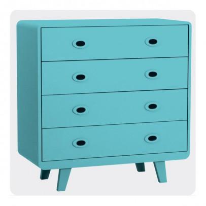 Laurette Commode Toi et Moi - Turquoise-product