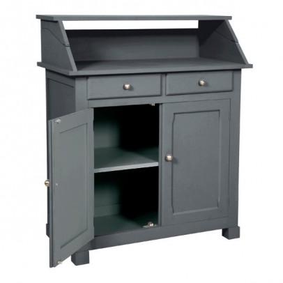 Laurette Surprise Side Table - Dark Grey-listing