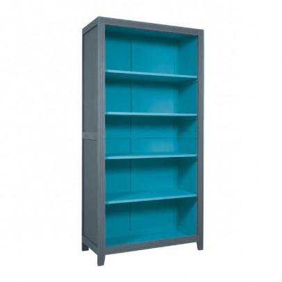 Laurette Libreria Parigina - Grigio Scuro/Turchese-listing