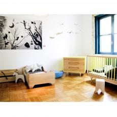 Kalon Studios Caravan Bed - White-listing