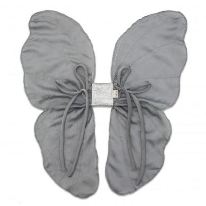 Numero 74 Ailes de papillon argent-listing