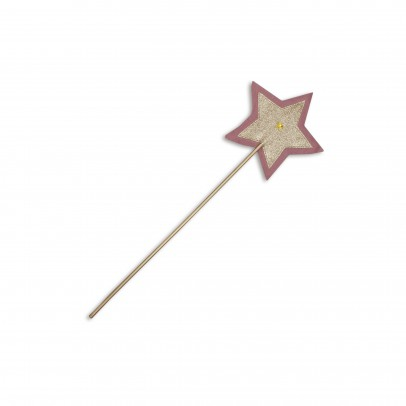 Numero 74 Zauberstab Fee - rosa und gold-listing