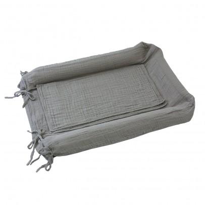 Numero 74 Fodera materasso per il cambio - grigio-listing