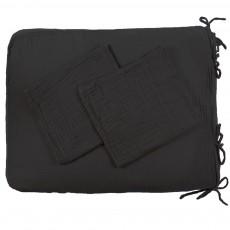 Numero 74 Fodera materasso per il cambio - antracite-listing