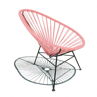 Sentou Acapulco Mini Pink chair-listing