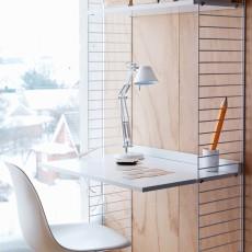 String Estanterías de oficina blancas-listing
