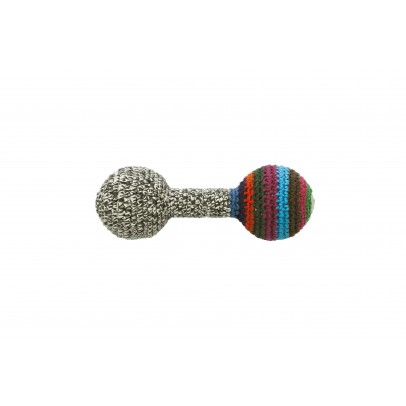 Anne-Claire Petit Grey rattle-product