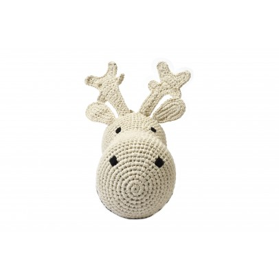 Anne-Claire Petit Reindeer head - cream-product
