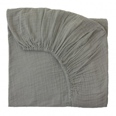 Numero 74 Fitted Sheet - grey-listing