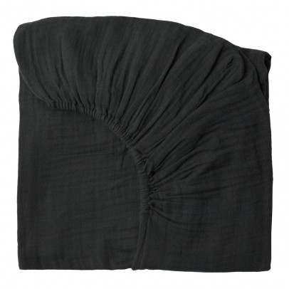 Numero 74 Fitted Sheet - dark grey-listing