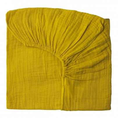Numero 74 Fitted sheet - sunflower yellow-listing