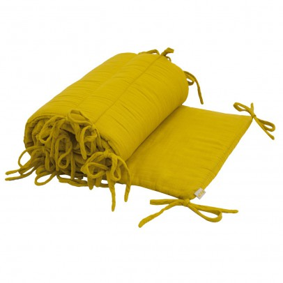 Numero 74 Protector de cuna - Amarillo Tornasol-listing