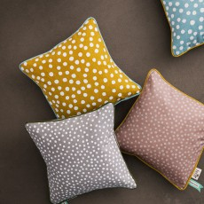 Ferm Living Yellow Dots Cushion-listing