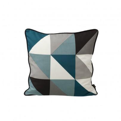 Ferm Living Coussin Remix - Bleu - 50x50 cm-product