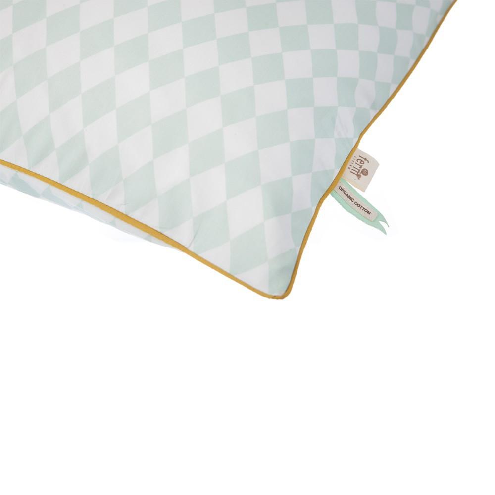 Juego de cama Arlequín - Verde menta-product