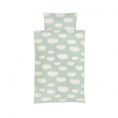 Ferm Living Juego de cama Nubes - Verde menta - 100x140 cm-listing