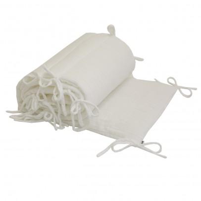 Numero 74 Crib bumper - white-product