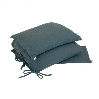 Numero 74 Bed linen set - grey blue-listing