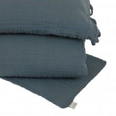 Numero 74 Corredo letto - Grigio blu-listing
