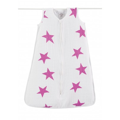 aden + anais  Saquito suave - Estrellas rosas-listing