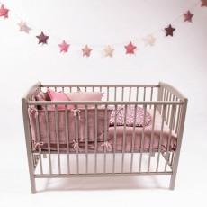 Combelle Cama bebé 60x120 cm- Lacada Blanco-listing