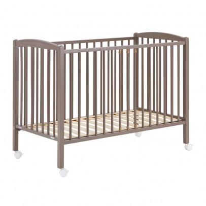 Combelle Lit bébé 60x120 cm - Laqué Taupe-product
