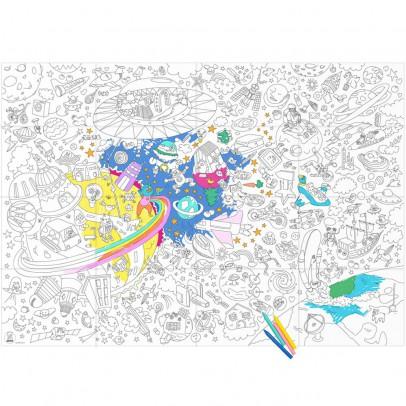 Omy Disegno gigante da colorare Cosmos-listing