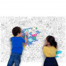 Omy Giant Outer Space Colouring-in Poster-listing
