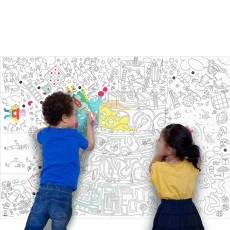 Omy Disegno gigante da colorare Play-listing
