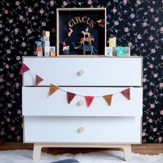 Oeuf NYC Merlin 3-drawer chest of drawers - Birch-listing
