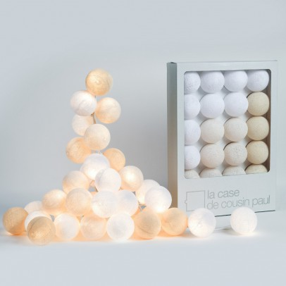 La case de cousin Paul Uyuni garland - 20 luminous balls-listing