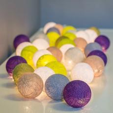 La case de cousin Paul Guirlande lumineuse 20 boules Wanaka-listing