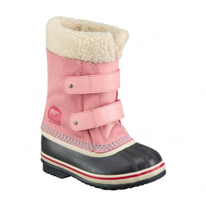 Sorel 1964 PAC Velcro fur-lined baby boots -listing