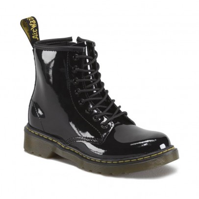 Dr Martens  Core Delaney lacquered zip boots-listing