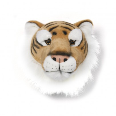 Wild & Soft Bibib Tiger trophy soft toy-listing