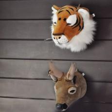 Wild & Soft Bibib Trophée peluche Tigre-listing