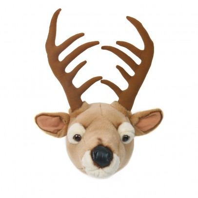 Wild & Soft Bibib Stag trophy soft toy-listing