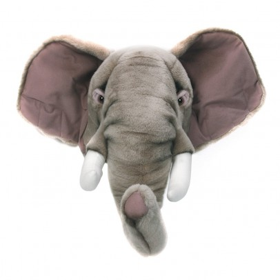 Wild & Soft Bibib Elephant trophy soft toy-listing