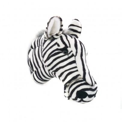 Wild & Soft Bibib Zebra trophy soft toy-listing
