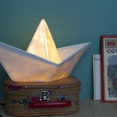 Goodnight Light Boat Lamp - White-listing
