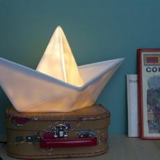 Goodnight Light Schiff-Lampe-Weiss -listing
