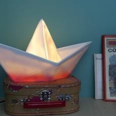 Goodnight Light Boat lamp - pink-listing