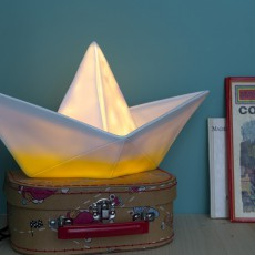 Goodnight Light Lampe bateau Jaune-listing