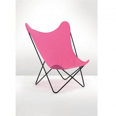 Laurette Butterfly Chair - Bubblegum-listing
