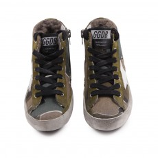 Golden Goose Sneakers Camouflage Imbottite Francy-listing