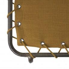 Numero 74 Brandina bimbo in tela - giallo senape-listing